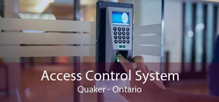 Access Control System Quaker - Ontario