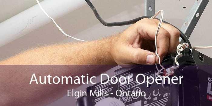 Automatic Door Opener Elgin Mills - Ontario