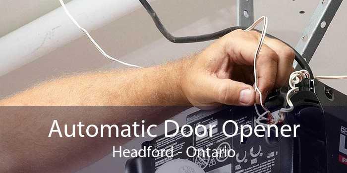 Automatic Door Opener Headford - Ontario