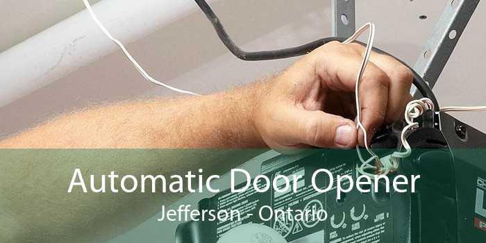 Automatic Door Opener Jefferson - Ontario