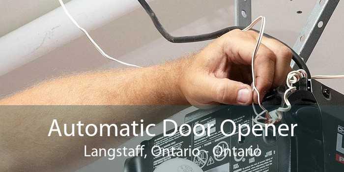 Automatic Door Opener Langstaff, Ontario - Ontario