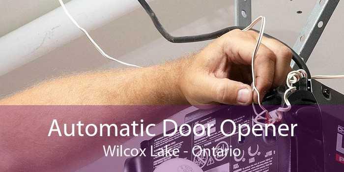 Automatic Door Opener Wilcox Lake - Ontario