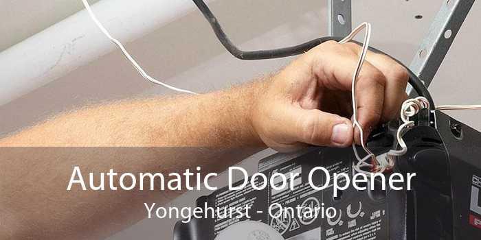 Automatic Door Opener Yongehurst - Ontario