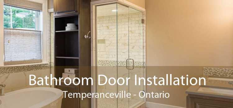 Bathroom Door Installation Temperanceville - Ontario