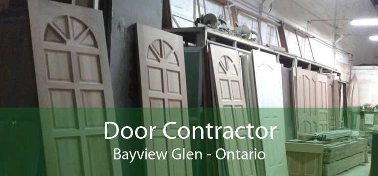 Door Contractor Bayview Glen - Ontario