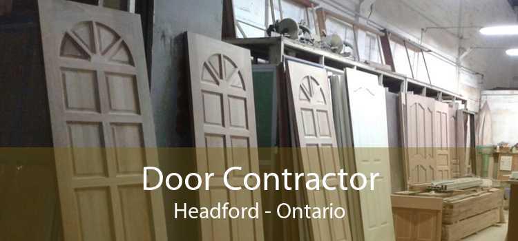 Door Contractor Headford - Ontario