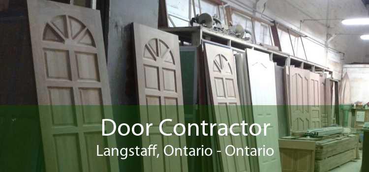 Door Contractor Langstaff, Ontario - Ontario