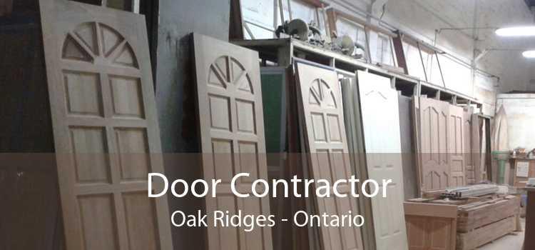 Door Contractor Oak Ridges - Ontario