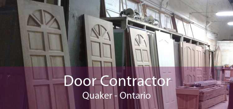 Door Contractor Quaker - Ontario