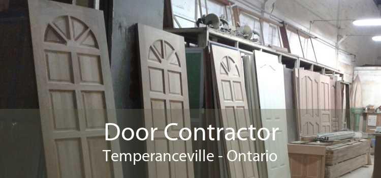 Door Contractor Temperanceville - Ontario