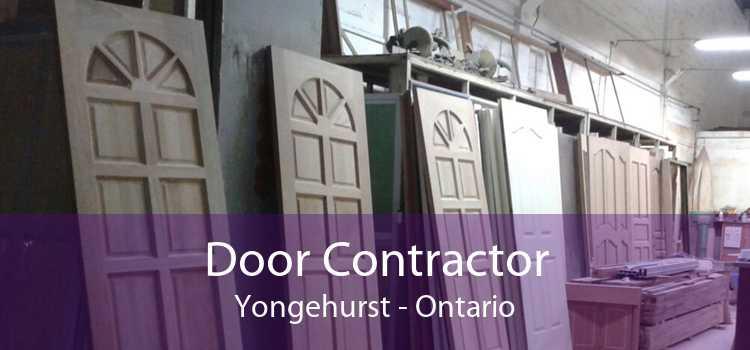 Door Contractor Yongehurst - Ontario