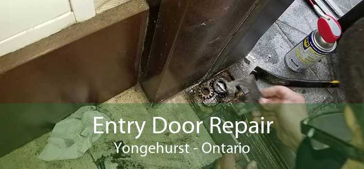 Entry Door Repair Yongehurst - Ontario
