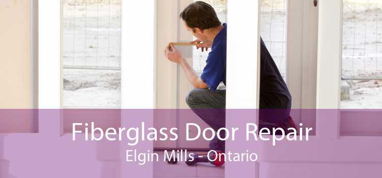 Fiberglass Door Repair Elgin Mills - Ontario