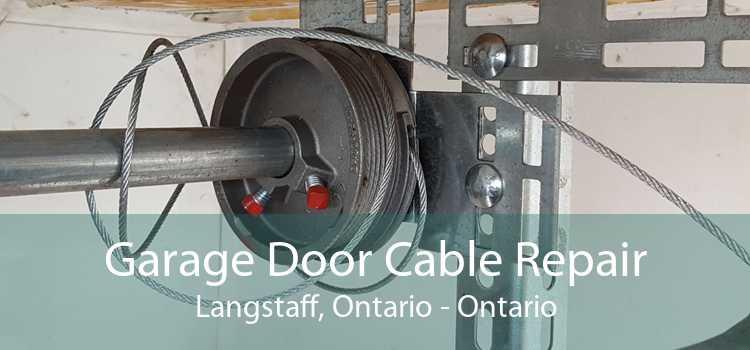 Garage Door Cable Repair Langstaff, Ontario - Ontario