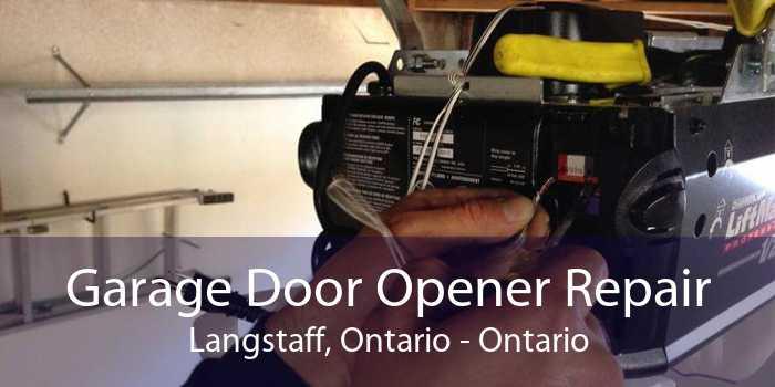 Garage Door Opener Repair Langstaff, Ontario - Ontario