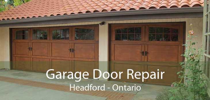 Garage Door Repair Headford - Ontario
