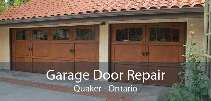 Garage Door Repair Quaker - Ontario