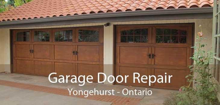 Garage Door Repair Yongehurst - Ontario