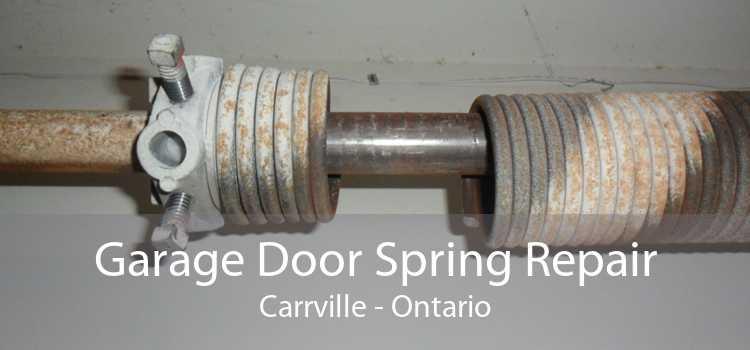 Garage Door Spring Repair Carrville - Ontario