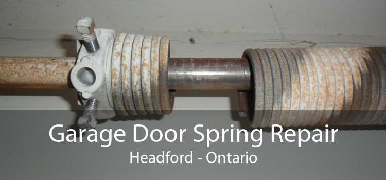 Garage Door Spring Repair Headford - Ontario