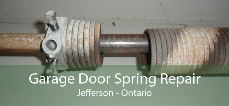 Garage Door Spring Repair Jefferson - Ontario