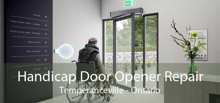 Handicap Door Opener Repair Temperanceville - Ontario