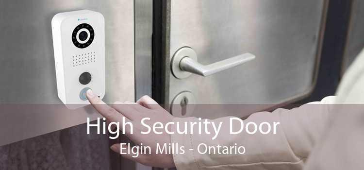 High Security Door Elgin Mills - Ontario