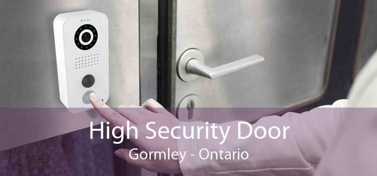 High Security Door Gormley - Ontario