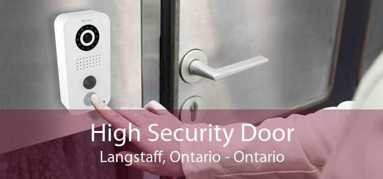 High Security Door Langstaff, Ontario - Ontario