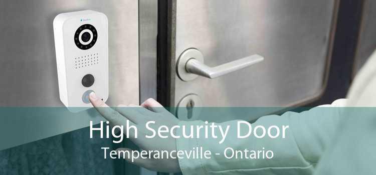 High Security Door Temperanceville - Ontario