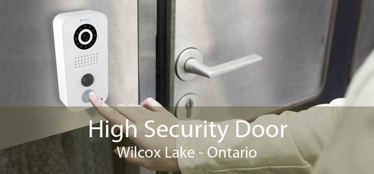 High Security Door Wilcox Lake - Ontario