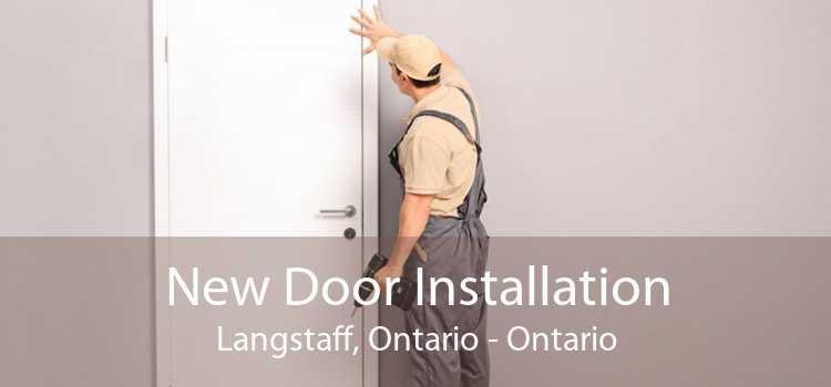 New Door Installation Langstaff, Ontario - Ontario