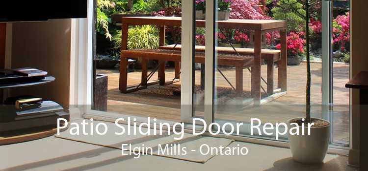 Patio Sliding Door Repair Elgin Mills - Ontario