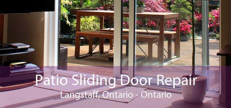 Patio Sliding Door Repair Langstaff, Ontario - Ontario