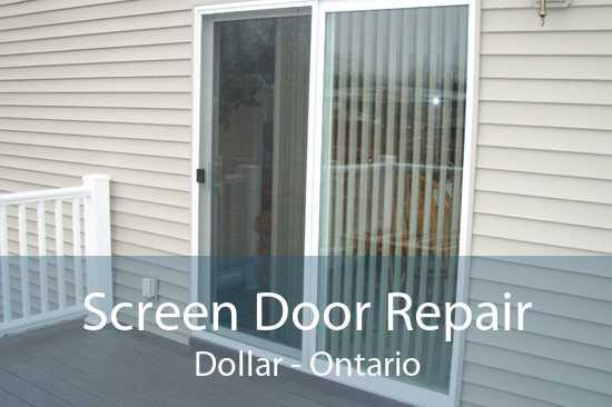 Screen Door Repair Dollar - Ontario