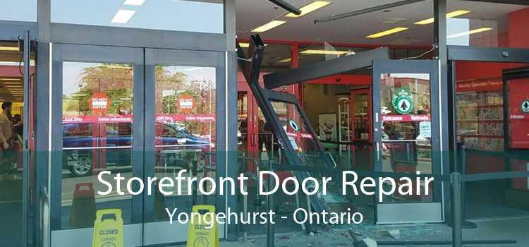 Storefront Door Repair Yongehurst - Ontario