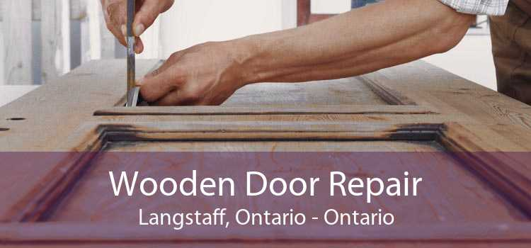 Wooden Door Repair Langstaff, Ontario - Ontario