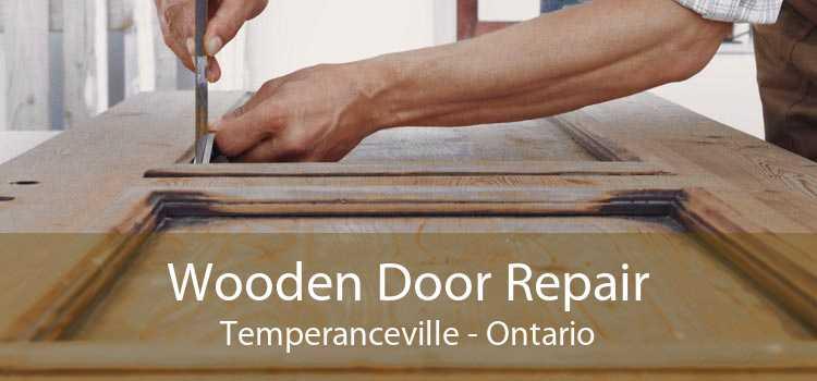 Wooden Door Repair Temperanceville - Ontario